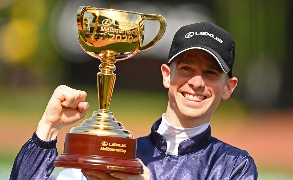 Ireland's Twilight Payment wins the Lexus Melbourne Cup